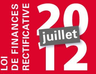 loi de finance rectificative 2012