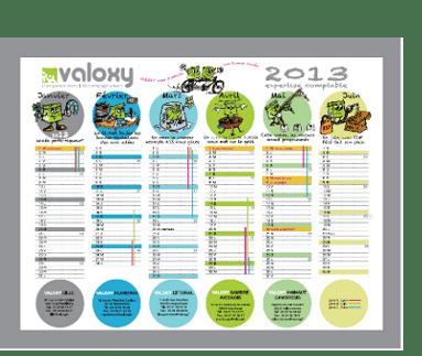 grand calendrier valoxy