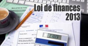 lois des finances 2013 et exonération sur les cession de titres