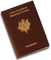 Passeport pour illustrer l'embauche d'un ressortissant étranger