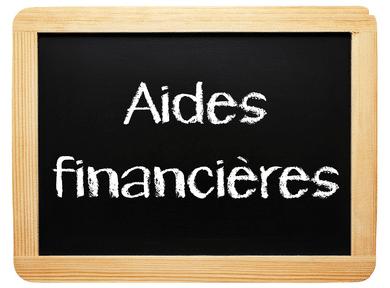 Ardoise aide financières