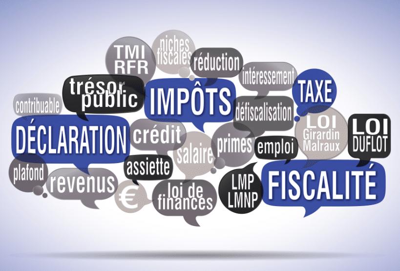 cfe impots declaration fiscalite