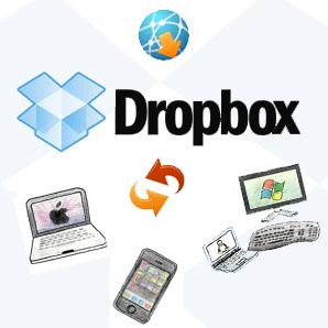 Dropbox, stocker facilement