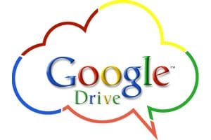Google drive, stocker facilement