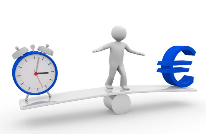 équilibre temps euros