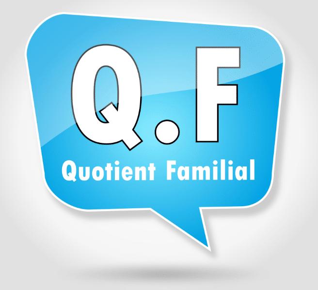 La baisse du plafond du quotient familial valoxy expert comptable lille - Plafond quotient familial ...
