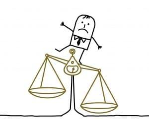 balance pour illustrer la nécéssité de trouver la méthode de calcul la plus favorable au salarié pour le calcul de ses indemnités de congés payés