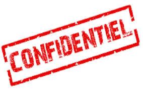 tampon confidentiel pour illustrer la confidentialité des données recueillies lors de l'entretien annuel d'évaluation