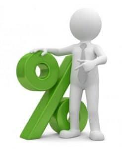 Majoration du taux