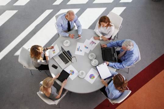 réunion de travail 11