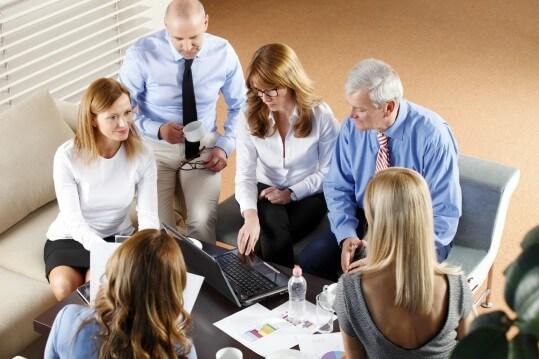 réunion de travail 14