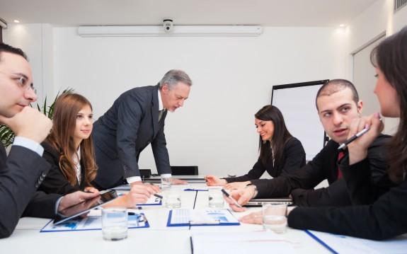 réunion de travail 16