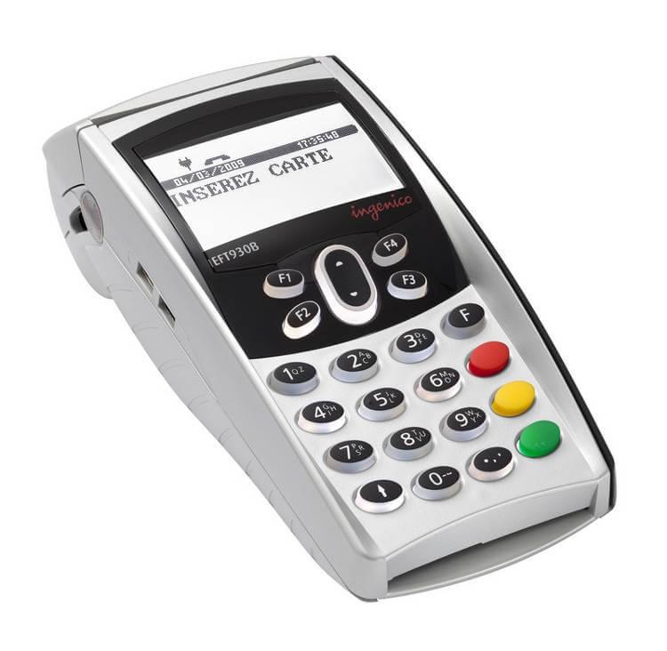 payer par carte bancaire avec un terminal de paiement ou TPE